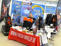 MGS-Stand an der Thermikmesse