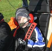 Sascha Müller mit 9 Jahren jüngster XCitor-Passagier