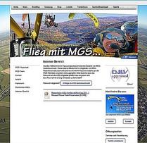 Interner Homepage-Bereich