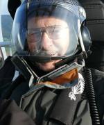 Ernst mit 87 Jahren unser ältester Passagier