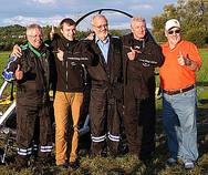 Werner, Julian, Ernst, Chris und Camill